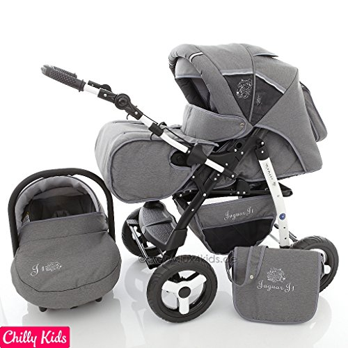 Chilly Kids Jaguar J1 Pram Amp Pushchair Travel System Car