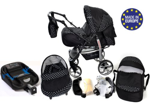 3 In 1 Travel System Incl Baby Pram With Swivel Wheels