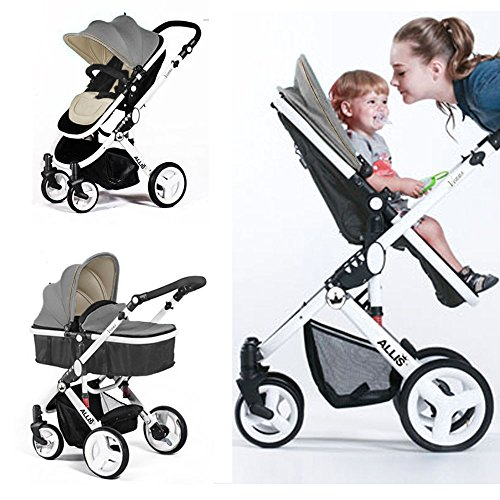 Allis 174 Baby Pram Pushchair Buggy Stroller Carry Cot Travel