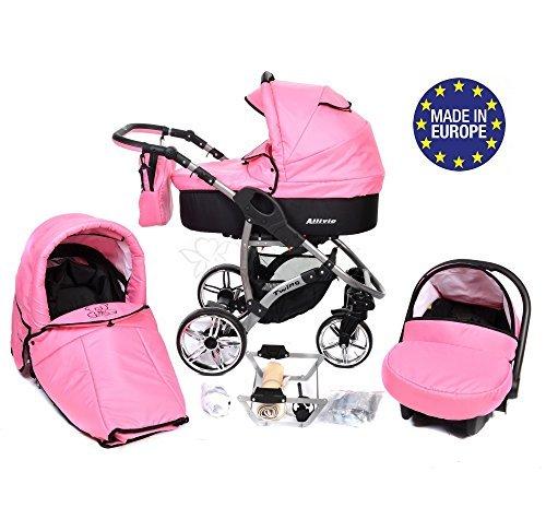 Allivio 3 In 1 Travel System With Baby Pram Car Seat