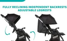 Chicco OHlalà Twin Double Stroller